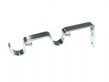 19mm/19mm Stainless Steel Double Layering Curtain Pole Bracket